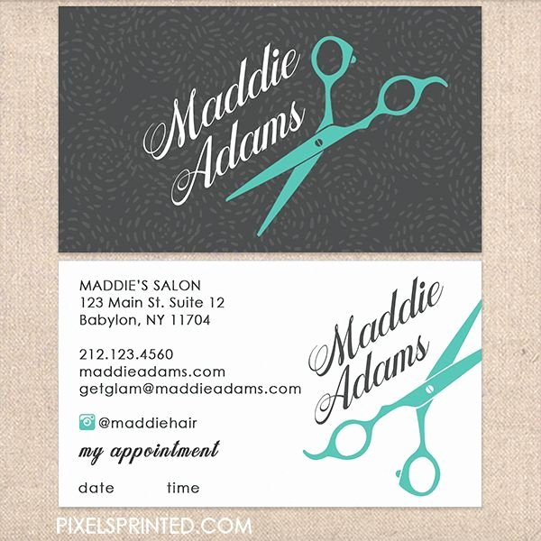 Hair Salons Business Cards Elegant Hairstylist Business Cards Beauty Business Cards