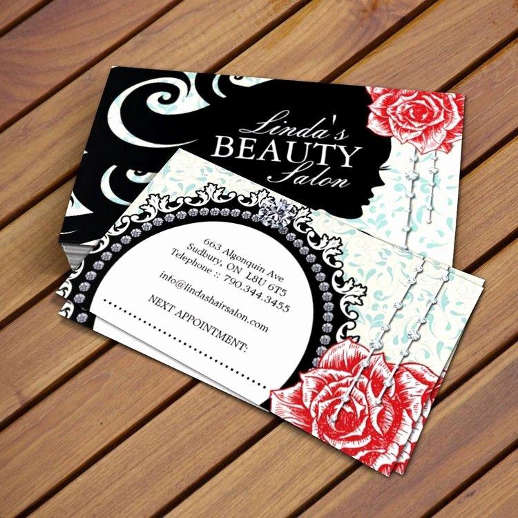 Hair Salons Business Cards Fresh Hair Salon Business Card