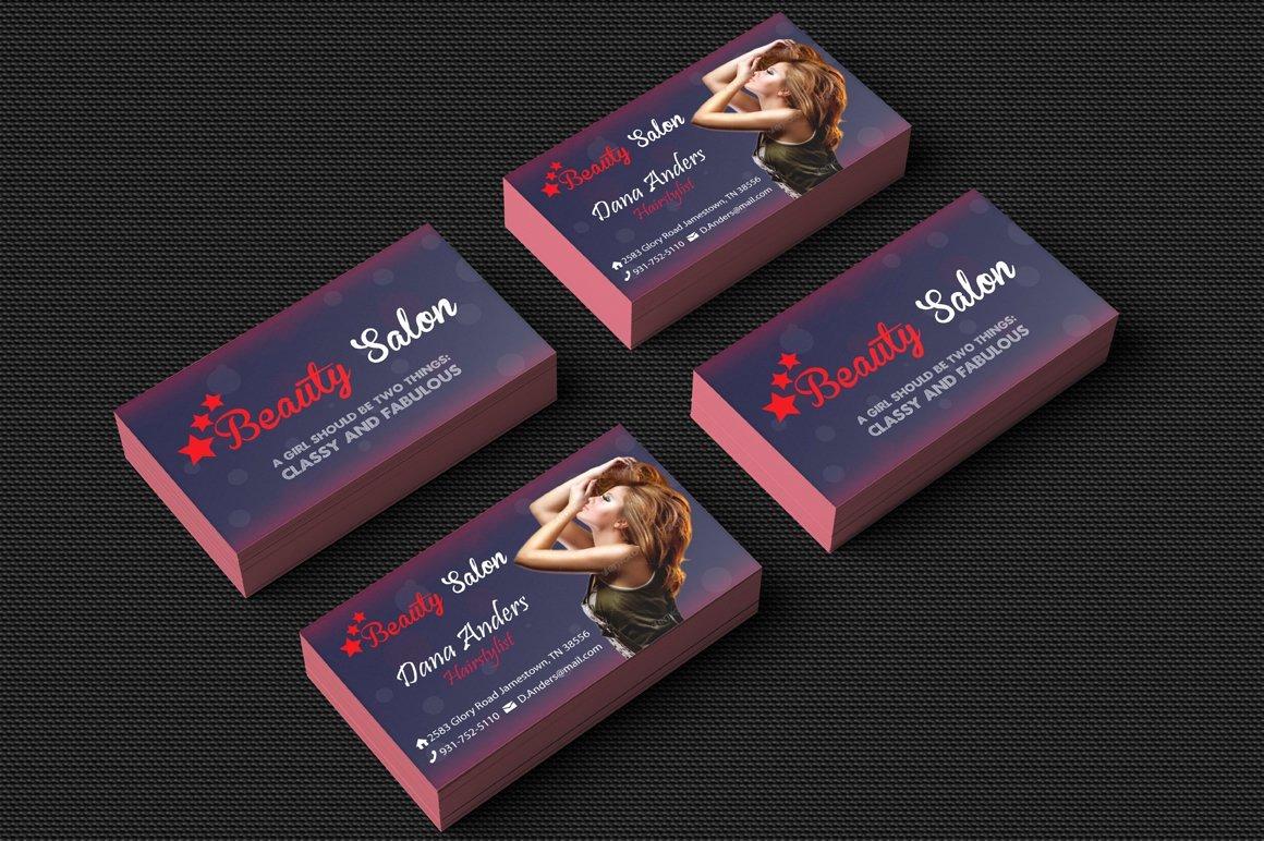 Hair Salons Business Cards Lovely Beauty Salon Business Card Business Card Templates