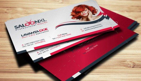 Hair Salons Business Cards Luxury 15 Hair Salon Business Card Psds