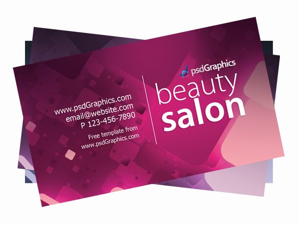 Hair Salons Business Cards New 50 Best Free Psd Business Card Templates Download
