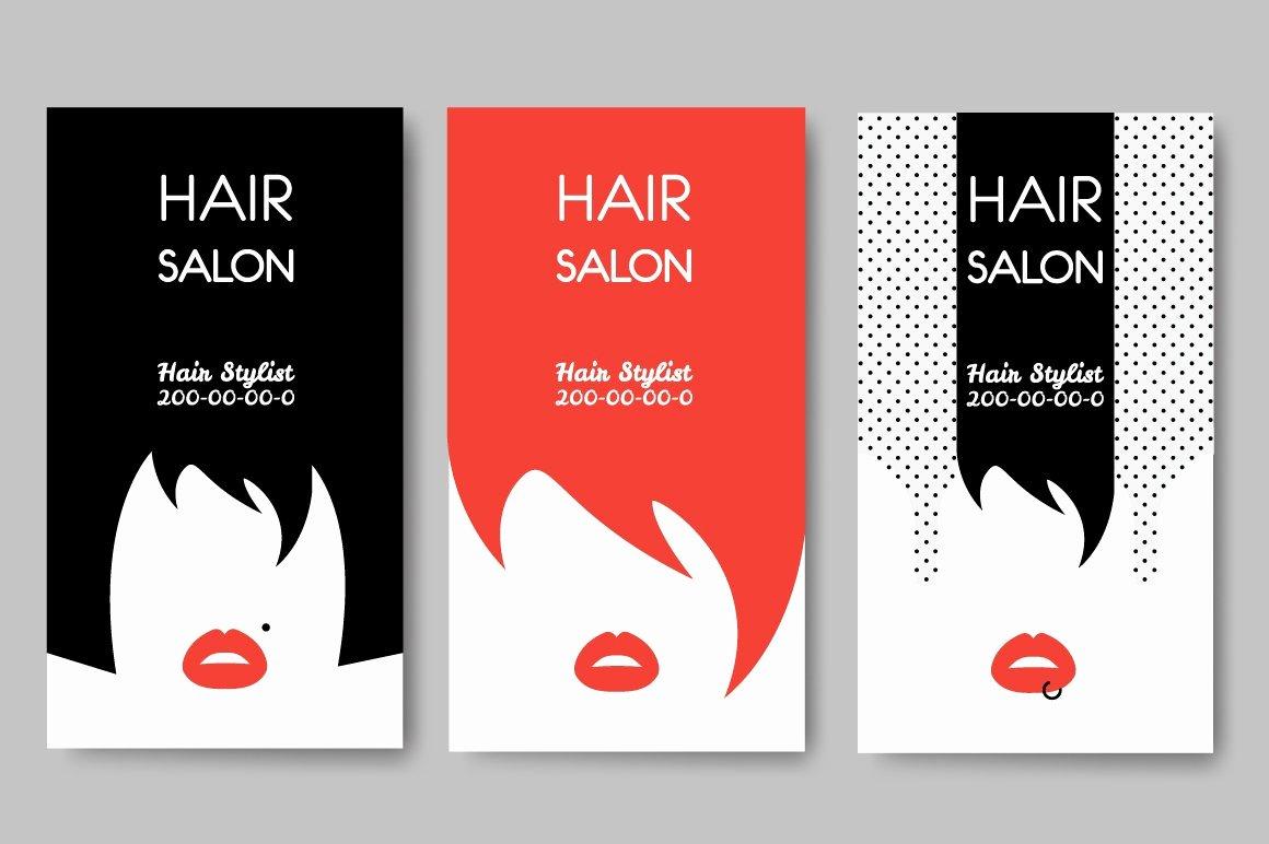 Hair Salons Business Cards New Hair Salon Business Cards Business Card Templates