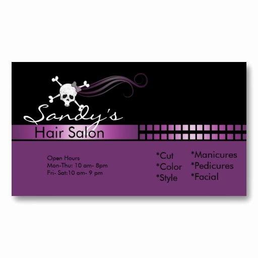Hair Salons Business Cards Unique 17 Best Images About Hair Salon Business Cards On