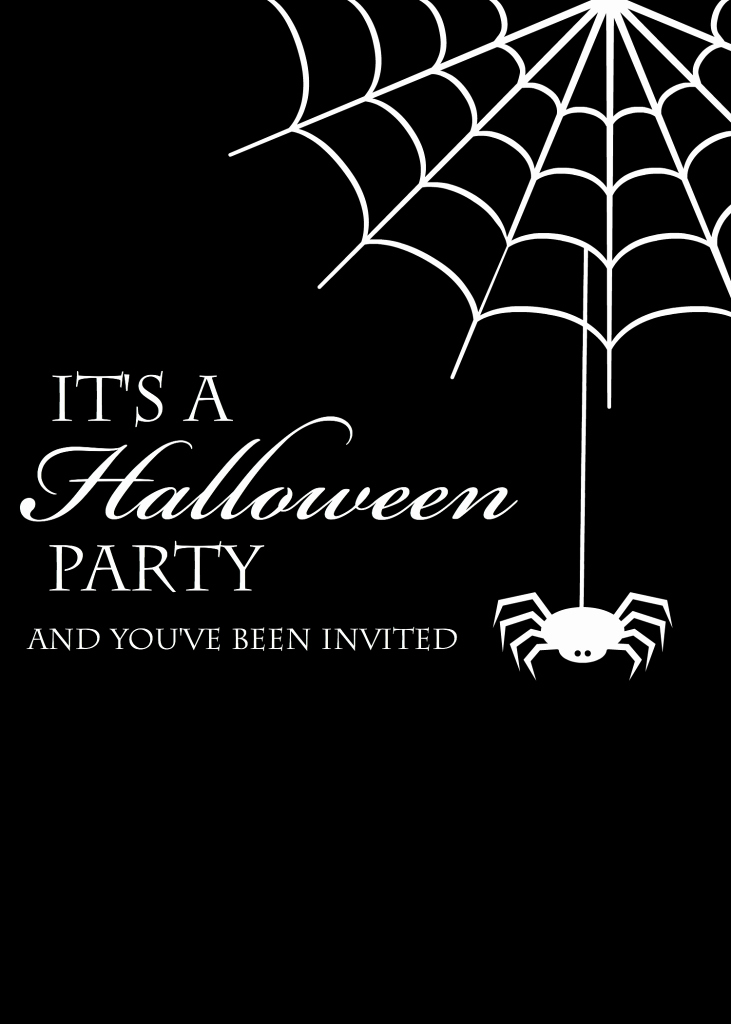 Halloween Birthday Party Invitations Beautiful Free Printable Halloween Party Invitations Yellow Bliss Road