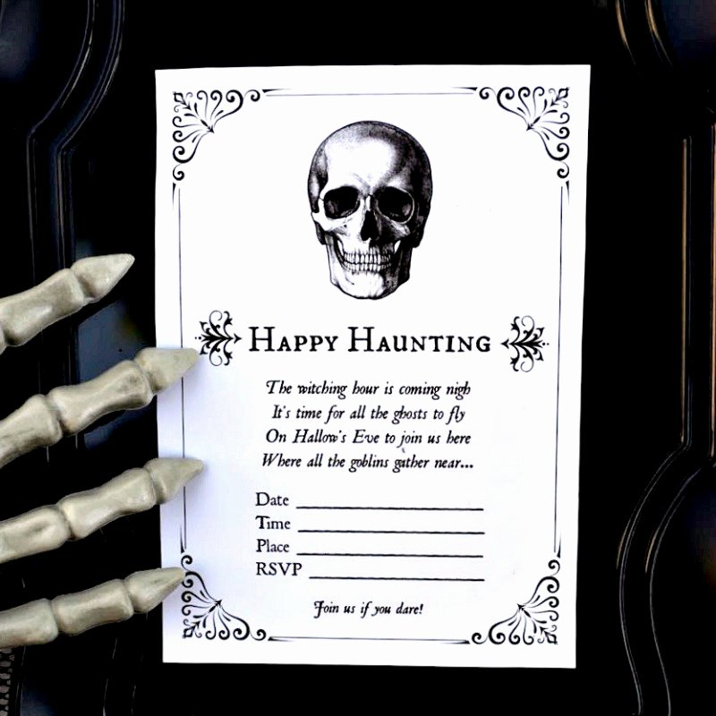 Halloween Birthday Party Invitations Fresh Free Printable Halloween Invitations for Your Spooky soiree