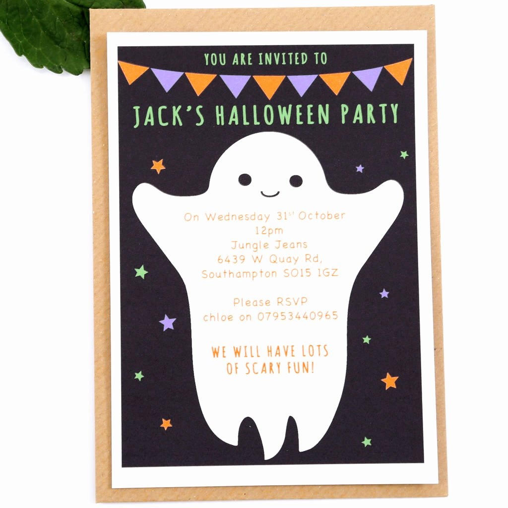 Halloween Birthday Party Invitations Fresh Halloween Party Invitations by Superfumi