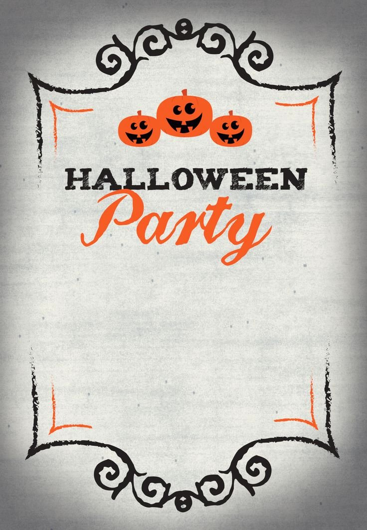Halloween Birthday Party Invitations Lovely Best 25 Halloween Party Invitations Ideas On Pinterest
