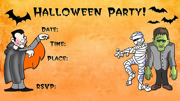 Halloween Party Invitation Template Beautiful 16 Awesome Printable Halloween Party Invitations