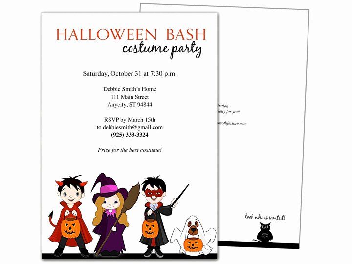 Halloween Party Invitation Template Beautiful 32 Best Halloween Party Invitations Diy Printable