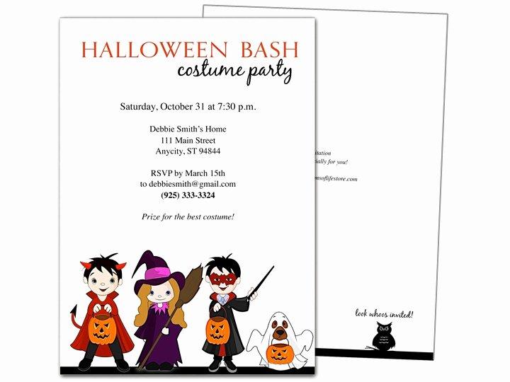 Halloween Party Invitation Template Beautiful 32 Best Halloween Party Invitations Diy Printable