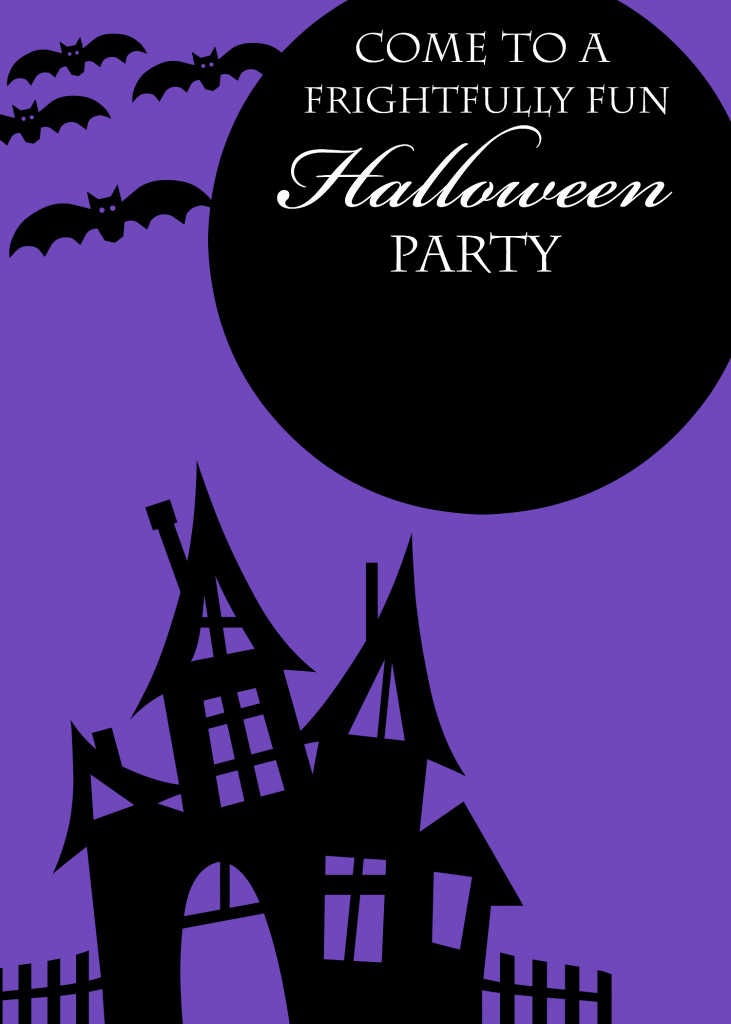 Halloween Party Invitation Template Fresh Free Printable Halloween Party Invitations Yellow Bliss Road