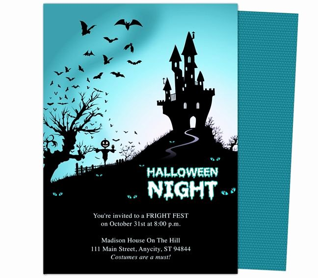 Halloween Party Invitation Template Inspirational 32 Best Halloween Party Invitations Diy Printable