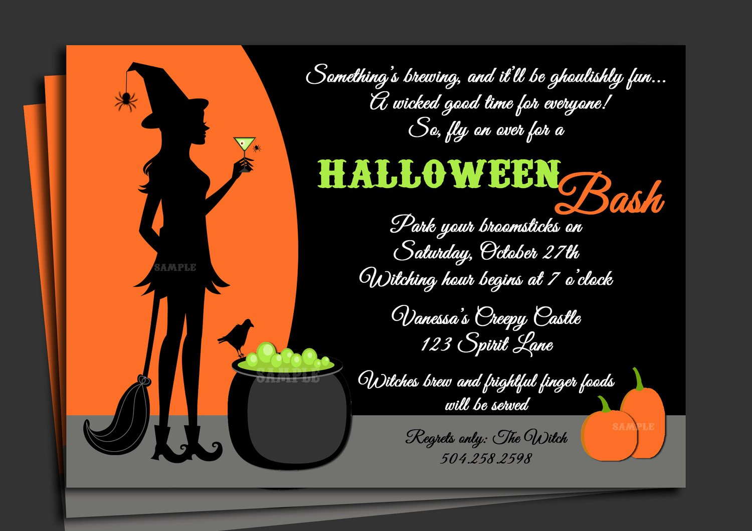 Halloween Party Invitation Template Inspirational Invitation Letter for Halloween Party – Festival Collections