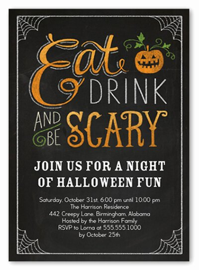 Halloween Party Invitation Template Luxury 18 Halloween Invitation Wording Ideas