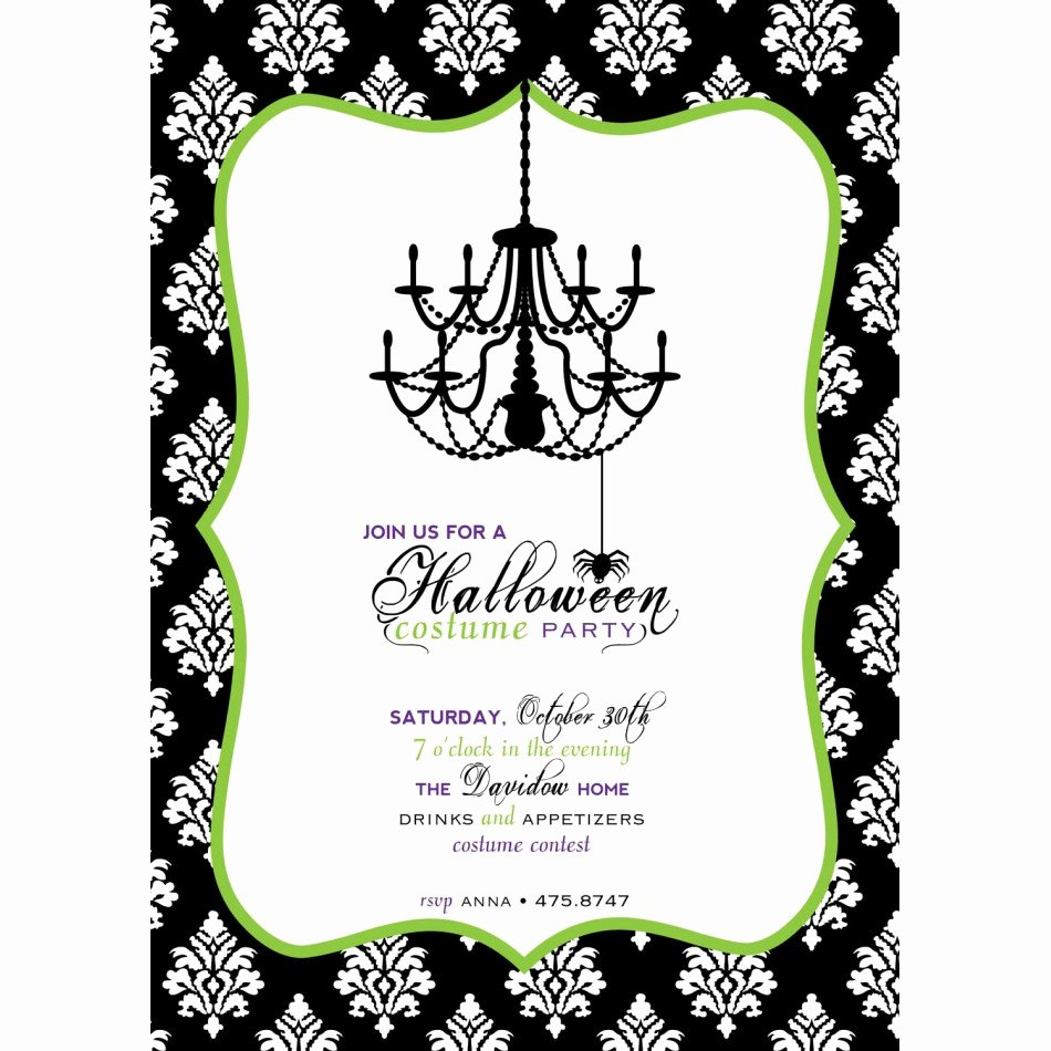 Halloween Party Invitation Template Luxury Halloween Invitation Templates Free Printable – Festival