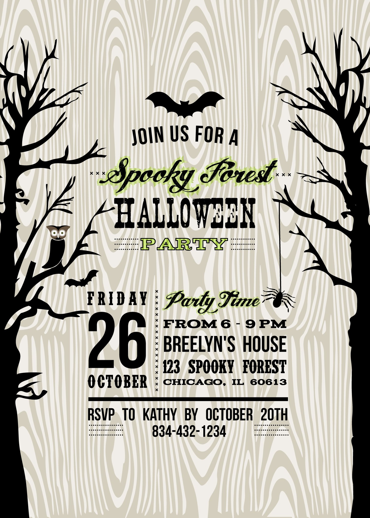 Halloween Party Invitation Template Luxury Lucas Halloween Party 2012 anders Ruff Custom Designs Llc