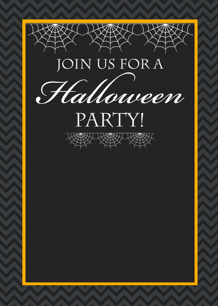 Halloween Party Invitation Template New Free Printable Halloween Party Invitations Yellow Bliss Road
