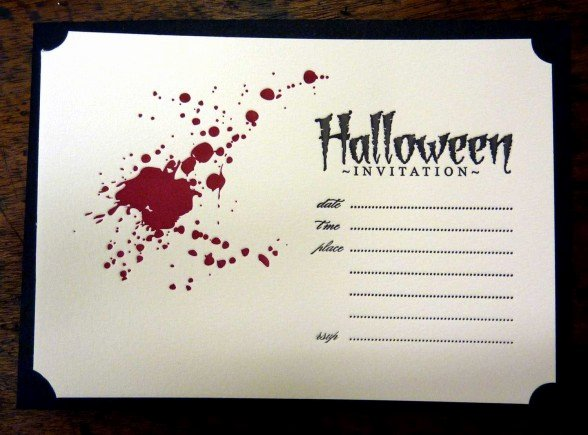 Halloween Party Invitations Template Awesome Halloween Invitation Template – Festival Collections