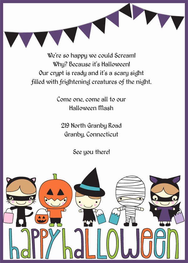Halloween Party Invitations Template Best Of Spooky Halloween Invitation Templates