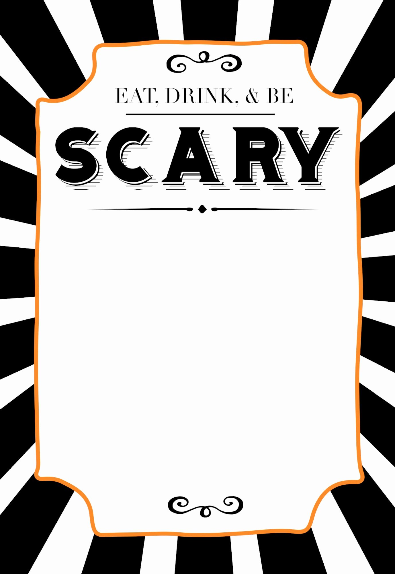 Halloween Party Invitations Template Luxury Halloween Invitations Free Printable Template Paper
