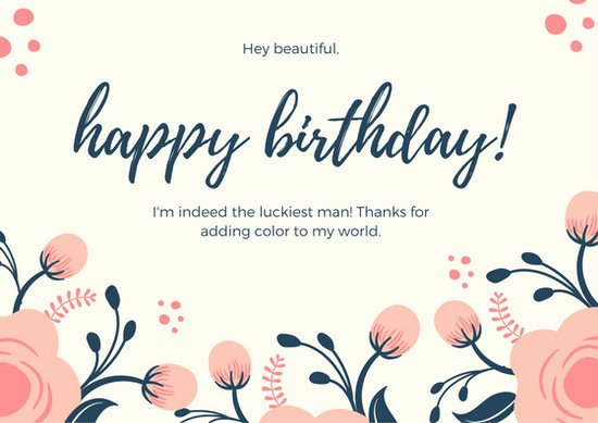 Happy Birthday Card Template Awesome Customize 884 Birthday Card Templates Online Canva