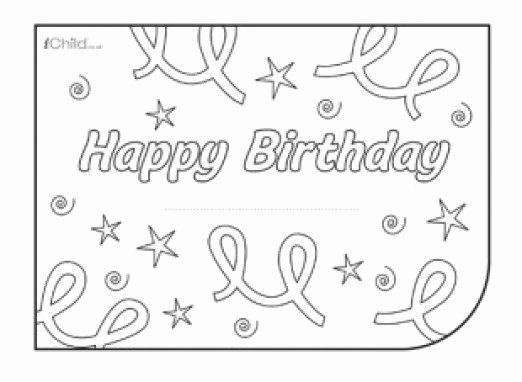 Happy Birthday Card Template Beautiful 34 Free Birthday Card Templates In Word Excel Pdf