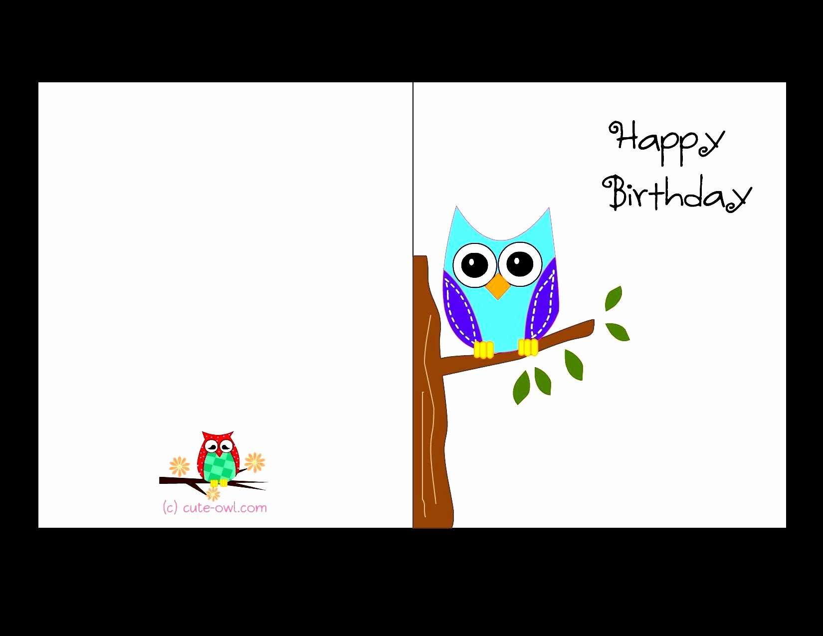 Happy Birthday Card Template Lovely Birthday Card Template