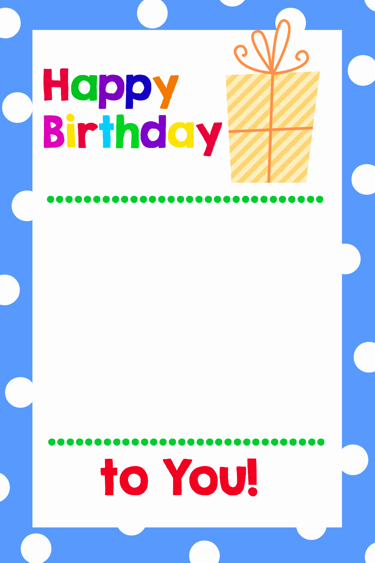 Happy Birthday Card Template Luxury Free Printable Birthday Cards that Hold Gift Cards