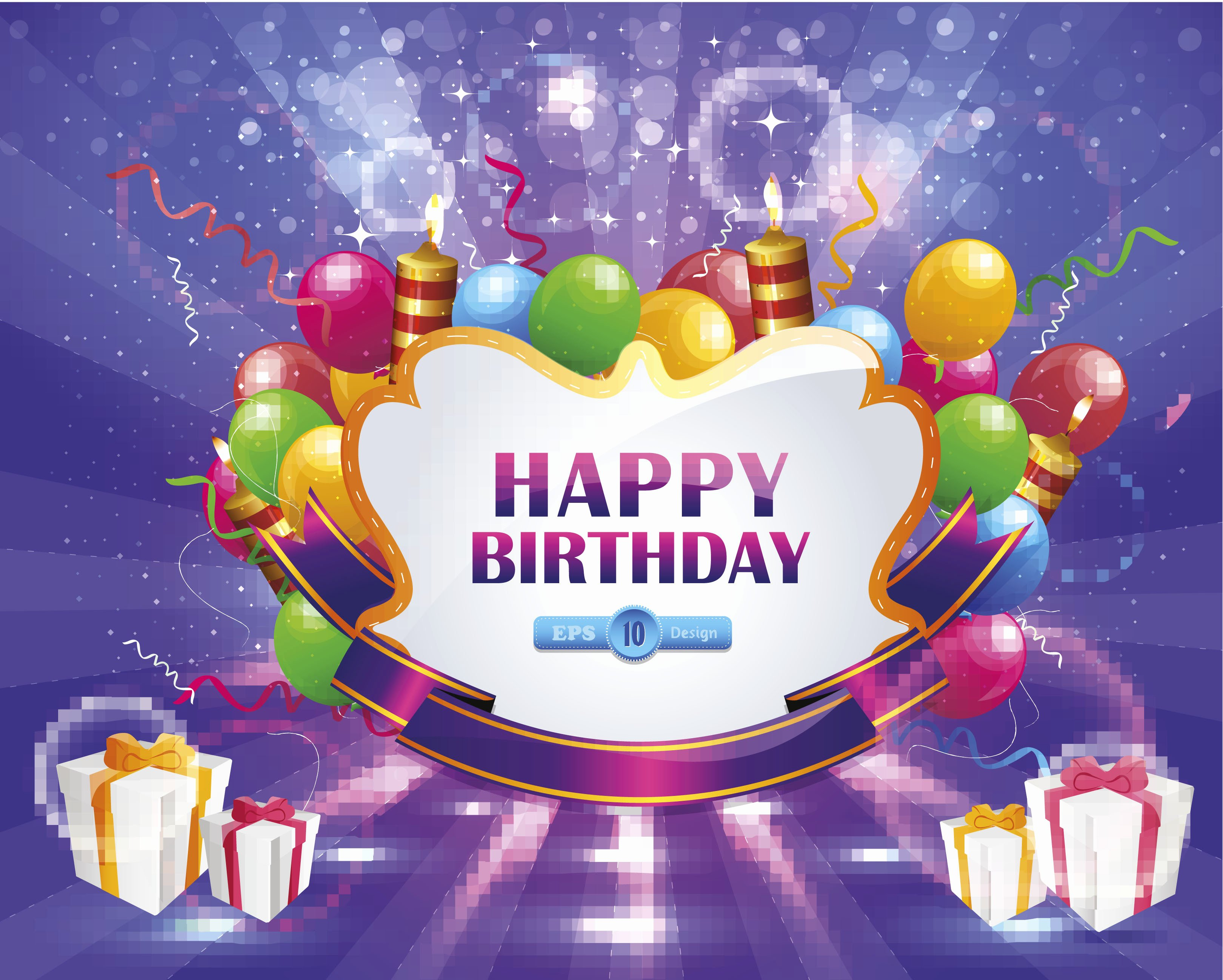 Happy Birthday Pictures Free Lovely Beautiful Picture with Congratulations for Birthday