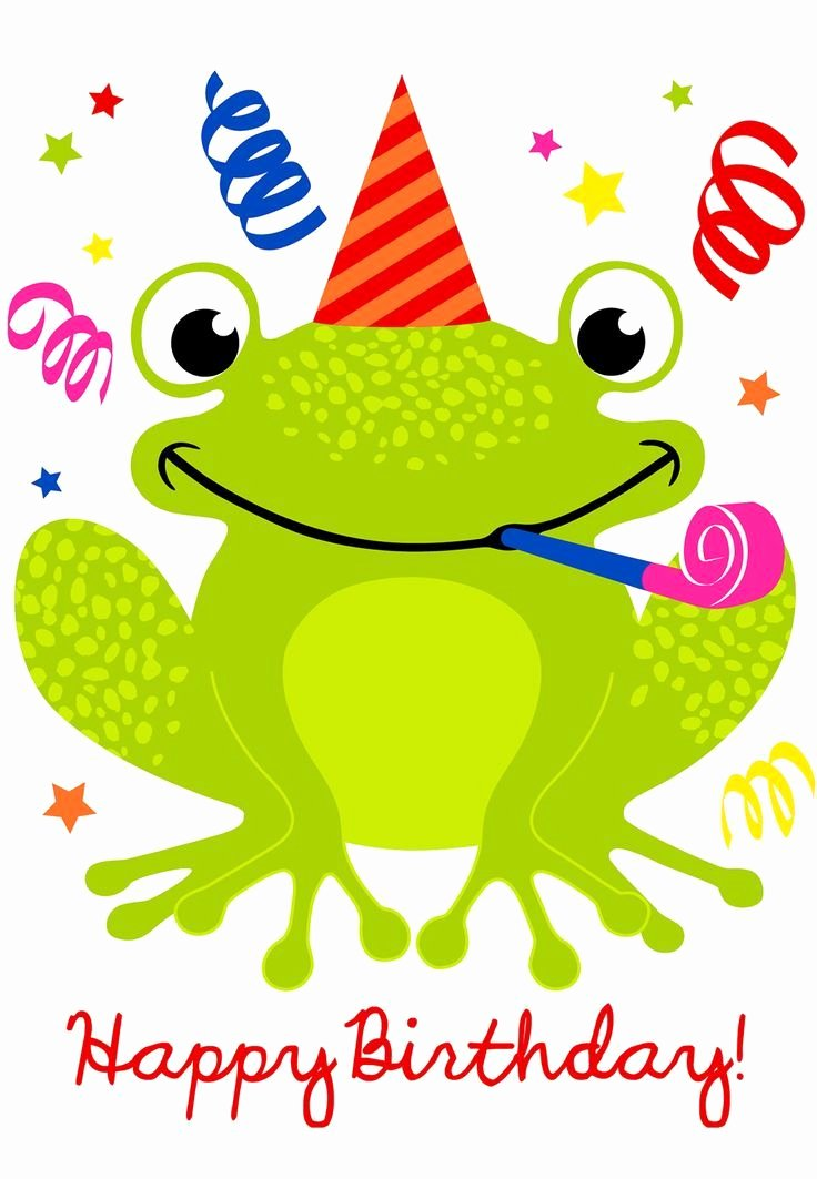 Happy Birthday Pictures Free New Cute Happy Birthday Frog S and for