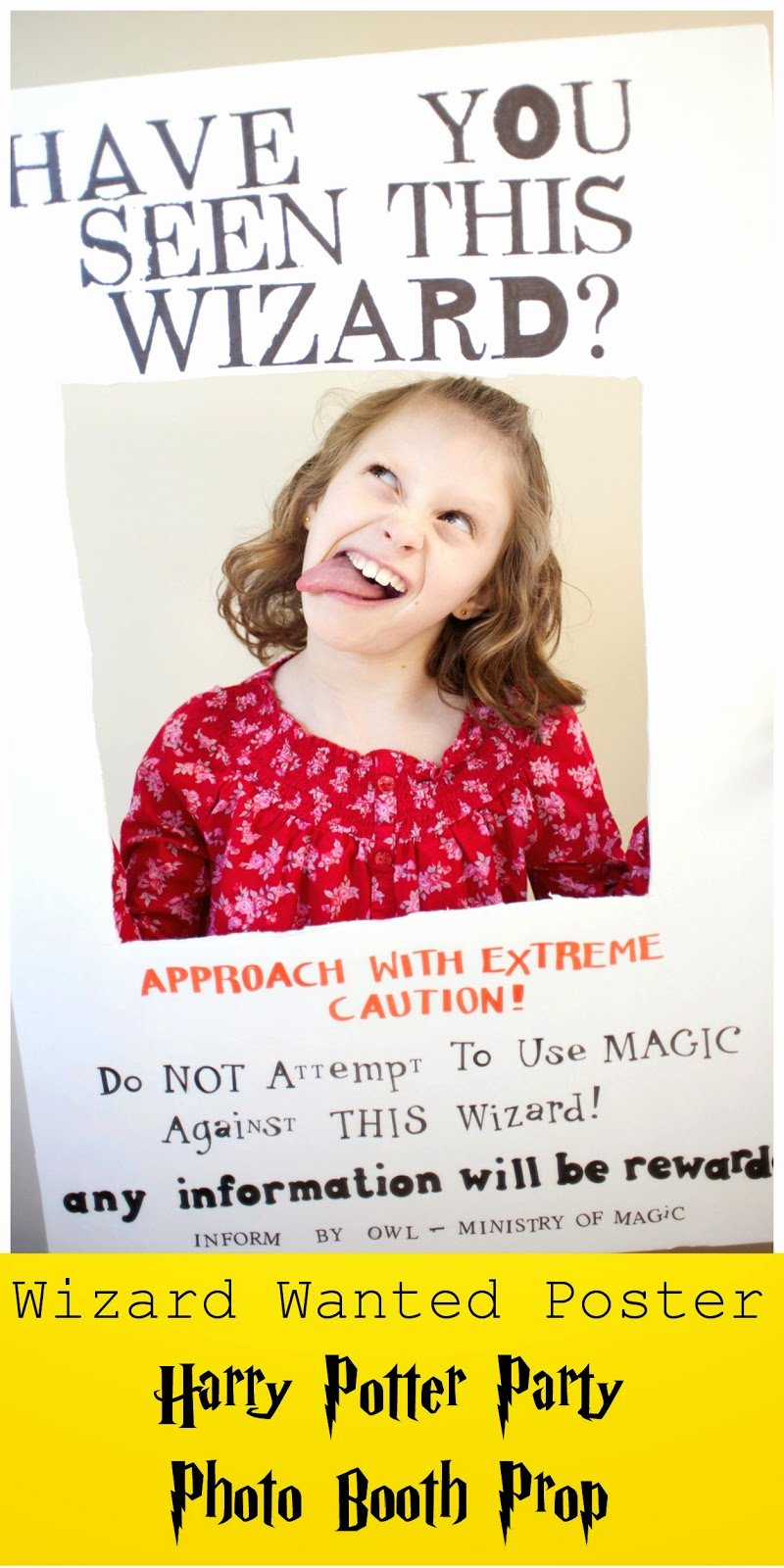 "Harry Potter Wanted Poster Awesome Hi It S Jilly ""wizard Wanted Poster"" Booth Prop"