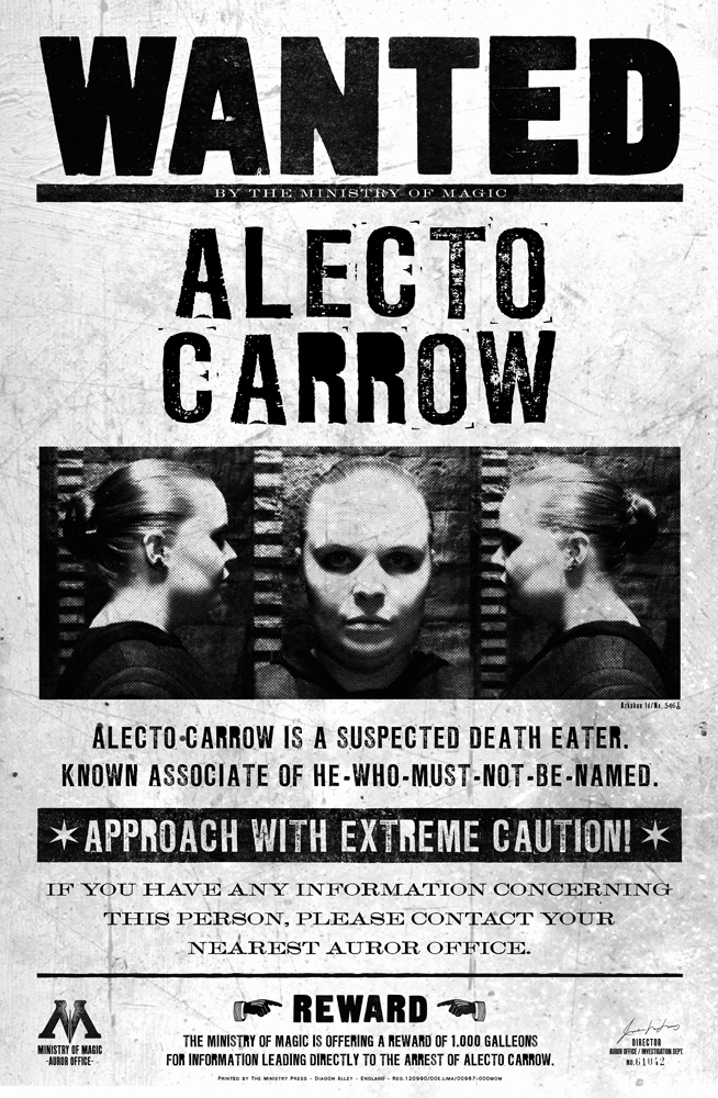 Harry Potter Wanted Poster Beautiful Image Alecto Carrow Wanted Harry Potter Wiki