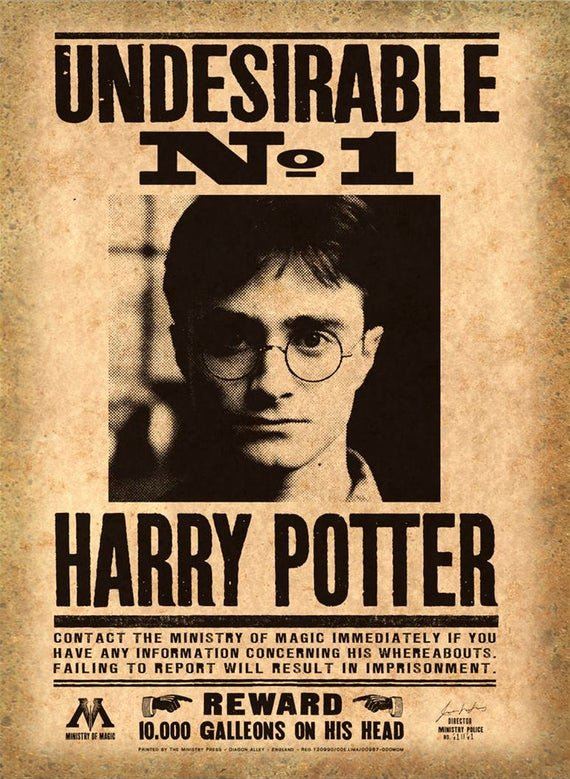 Harry Potter Wanted Poster Best Of Harry Potter Printable Mega Pack Wanted Posters Daily