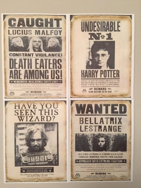Harry Potter Wanted Poster Fresh Harry Potter Ideas – Disableddaddy