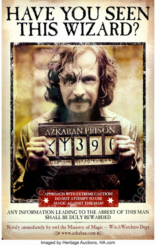 Harry Potter Wanted Poster Lovely Mugglenet Exclusive Sirius Black Wanted Poster Prototype