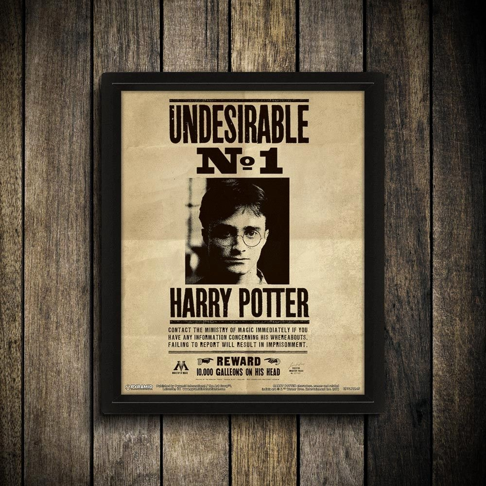 Harry Potter Wanted Poster Luxury Harry Potter and Sirius Black 3d Art Wanted Poster
