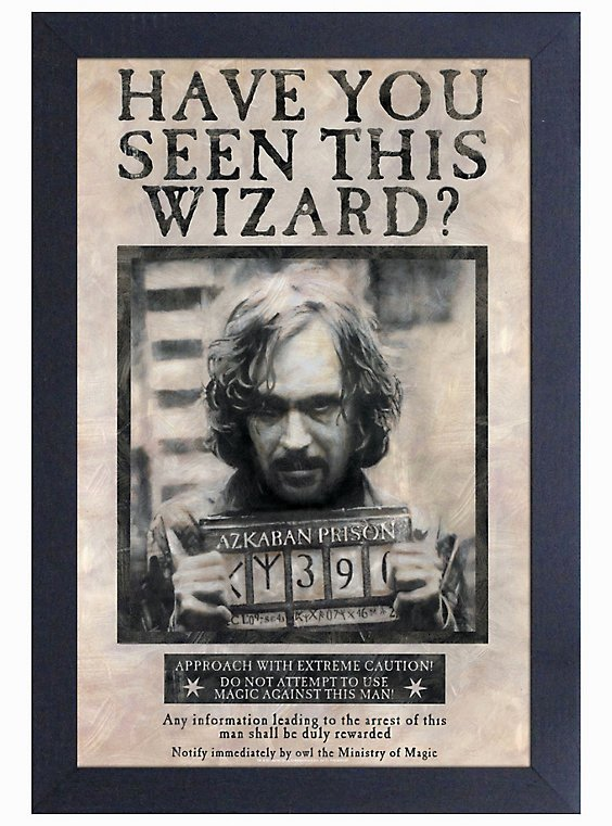 Harry Potter Wanted Poster Unique Harry Potter Sirius Black Wanted Poster