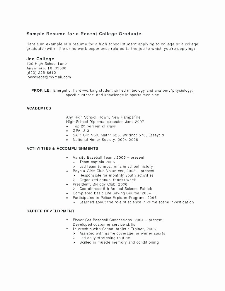 High School Diploma On Resume Best Of 12 13 High School Diploma On Resume Examples