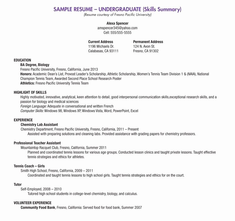 High School Resume Builder Best Of Blank Resume Template for High School Students