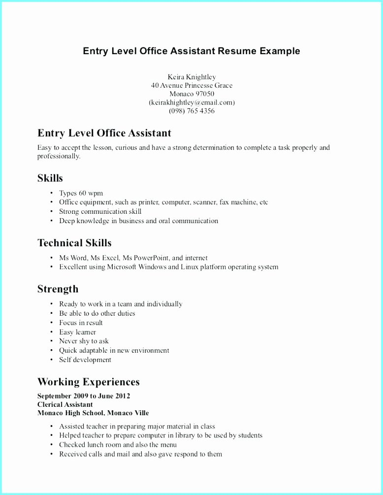 High School Resume Builder Inspirational Easy Resume Builder for Highschool Students