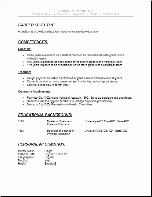 High School Resume Builder Inspirational High School Student Resume Examples for College Resume