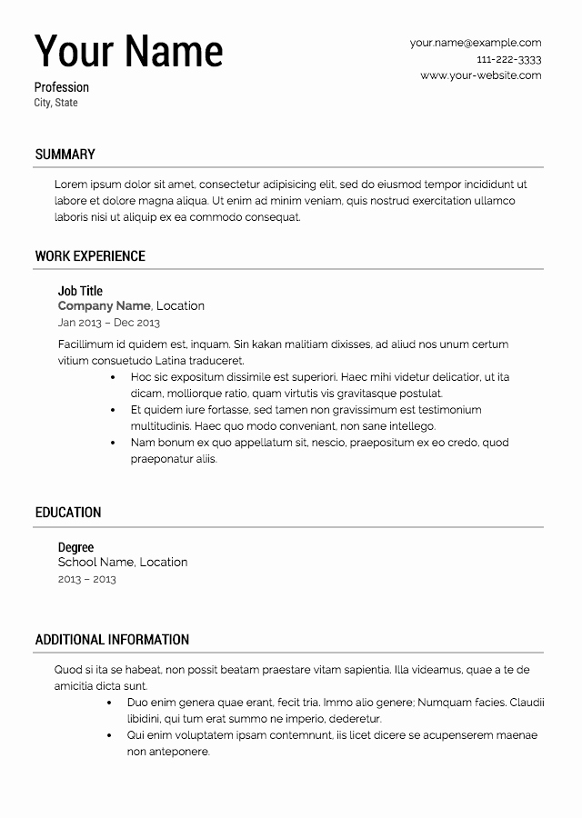 High School Resume Builder Inspirational How Many Pages Should A Resume Be Experteditors Net