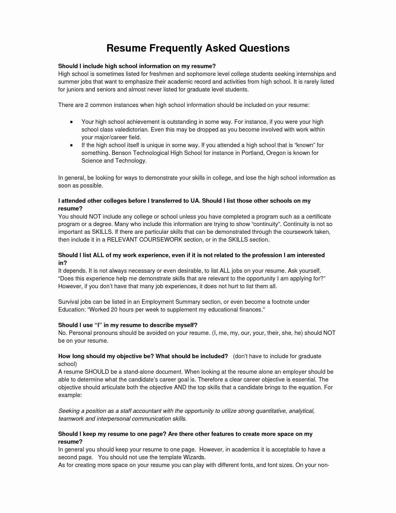 High School Resume Builder Inspirational Part 5 Free Sample Resume for Administrative assistant