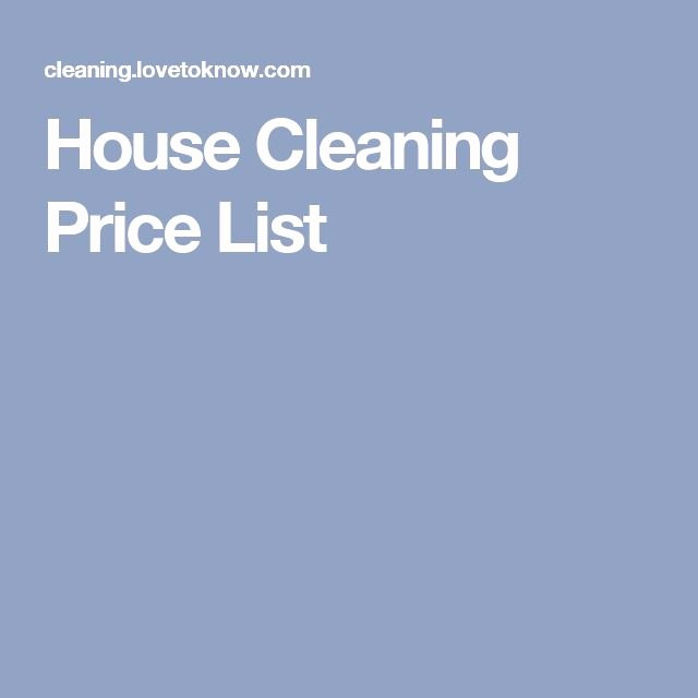 Home Cleaning Services Price List Awesome Best 25 House Cleaning Prices Ideas On Pinterest