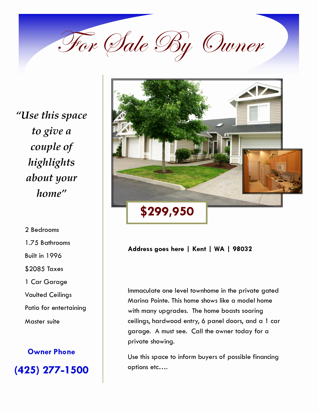 Home for Sale Flyer Awesome House for Sale Flyer Google Search
