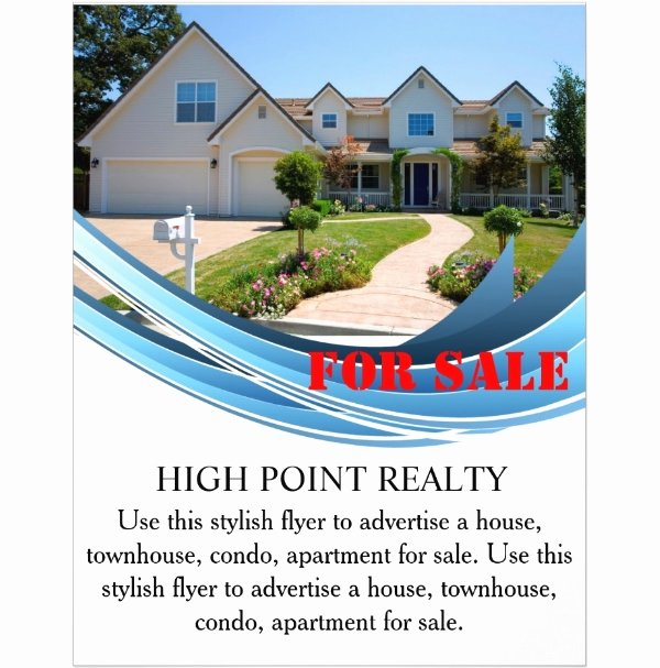 Home for Sale Flyer Elegant 44 Psd Real Estate Marketing Flyer Templates