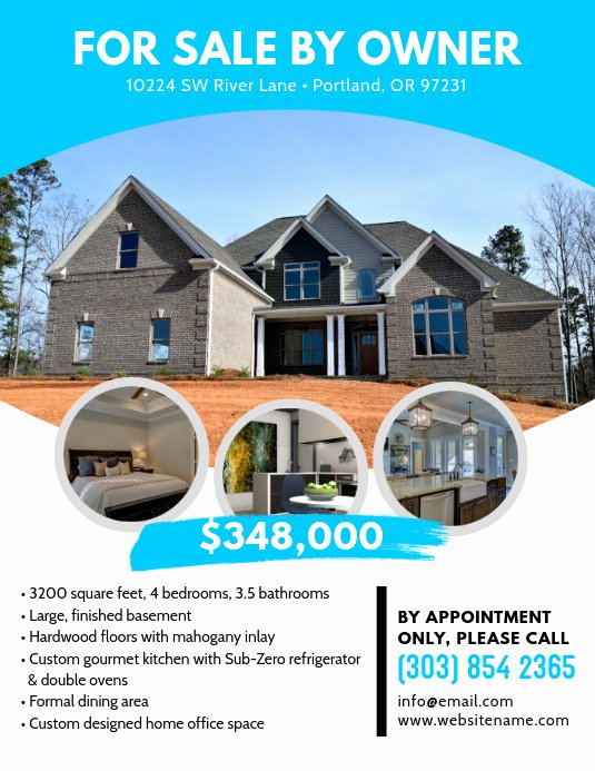 Home for Sale Flyer Lovely A Real Estate Flyer Template