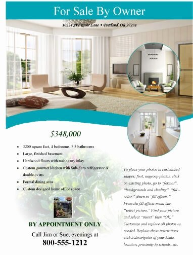 House for Sale Flyer Awesome 14 Free Flyers for Real Estate [sell Rent]
