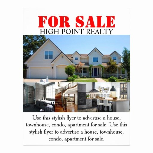 House for Sale Flyer Best Of Modern Real Estate Realtor for Sale Flyer