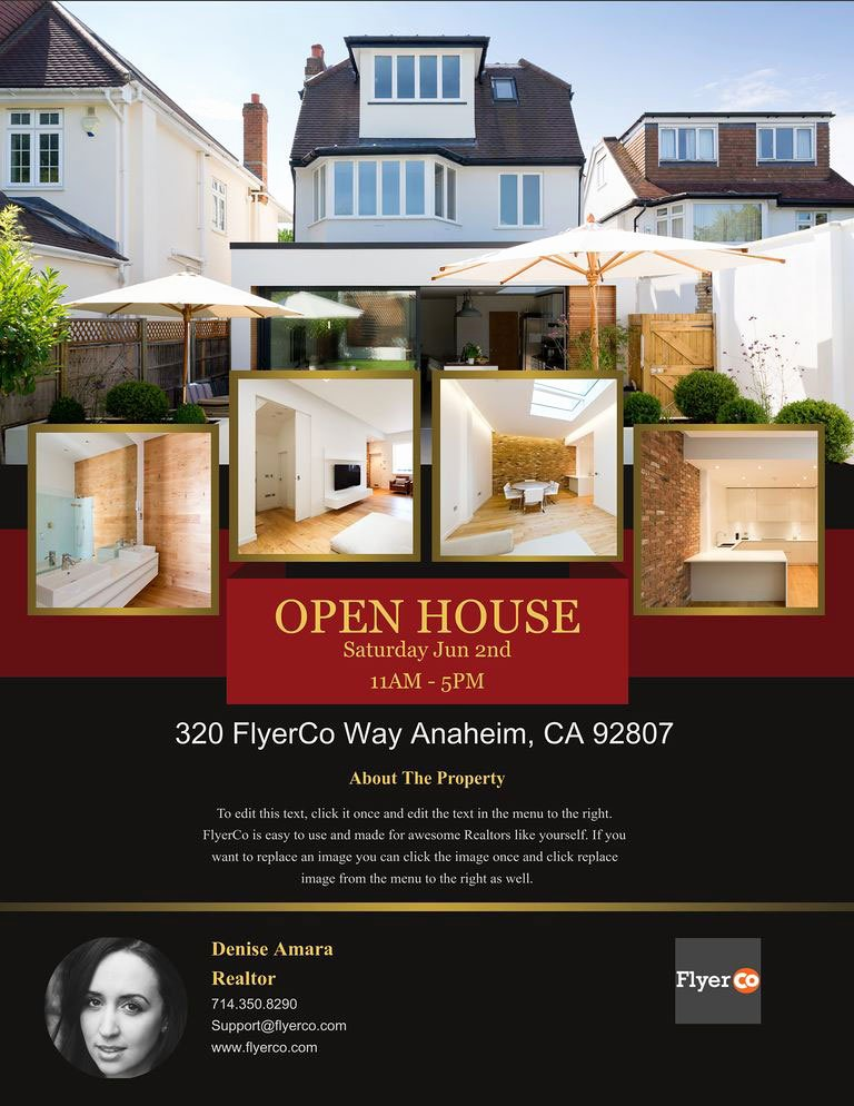 House for Sale Flyer Elegant Design Winning Open House Flyers that Close Sales Real